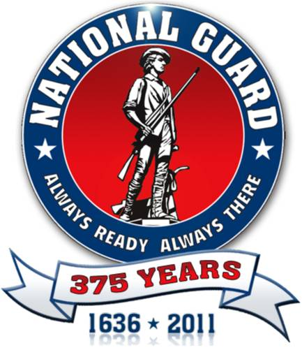 U.S. National Guard logo and Link to Website