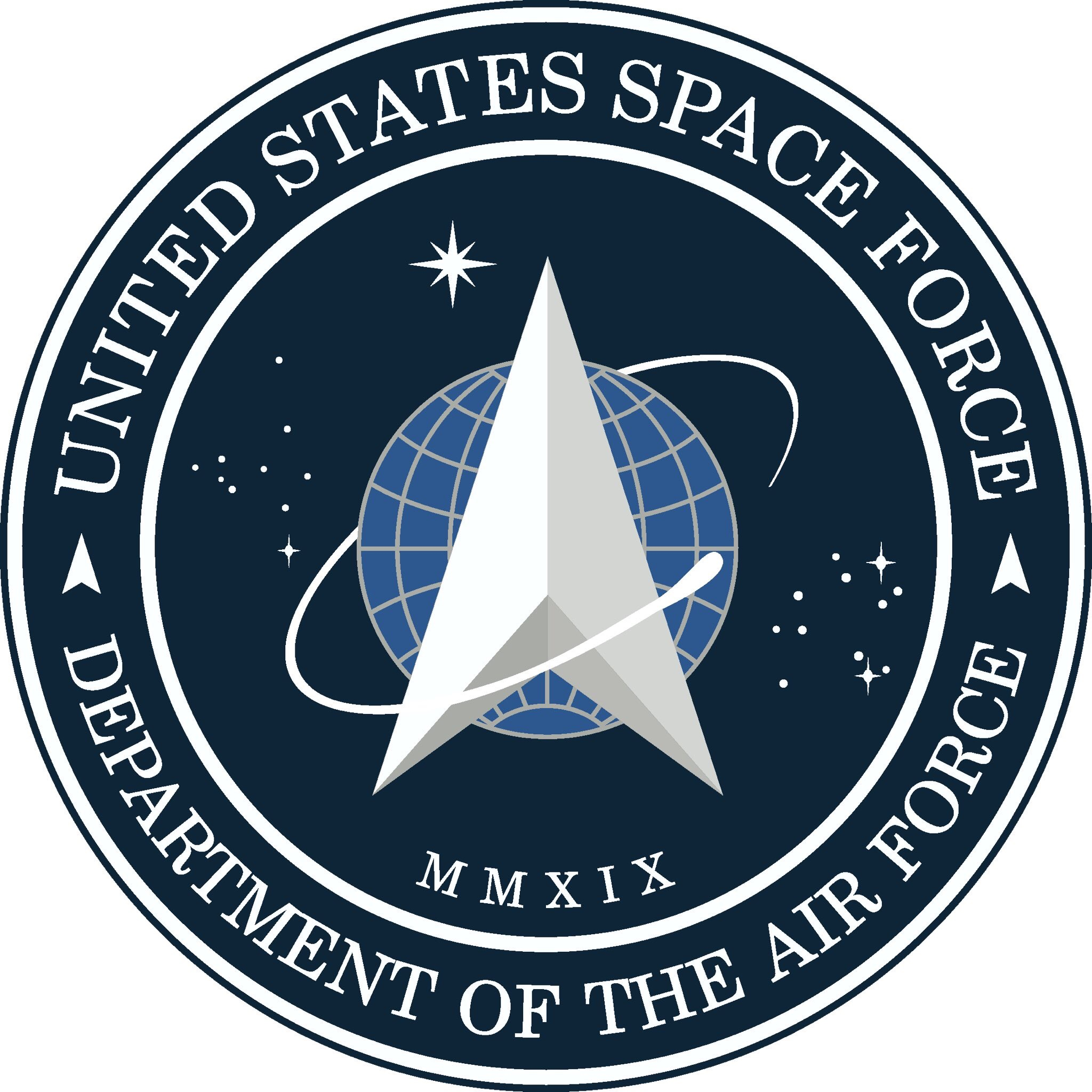 U.S. Space Force Logo and Link to Website